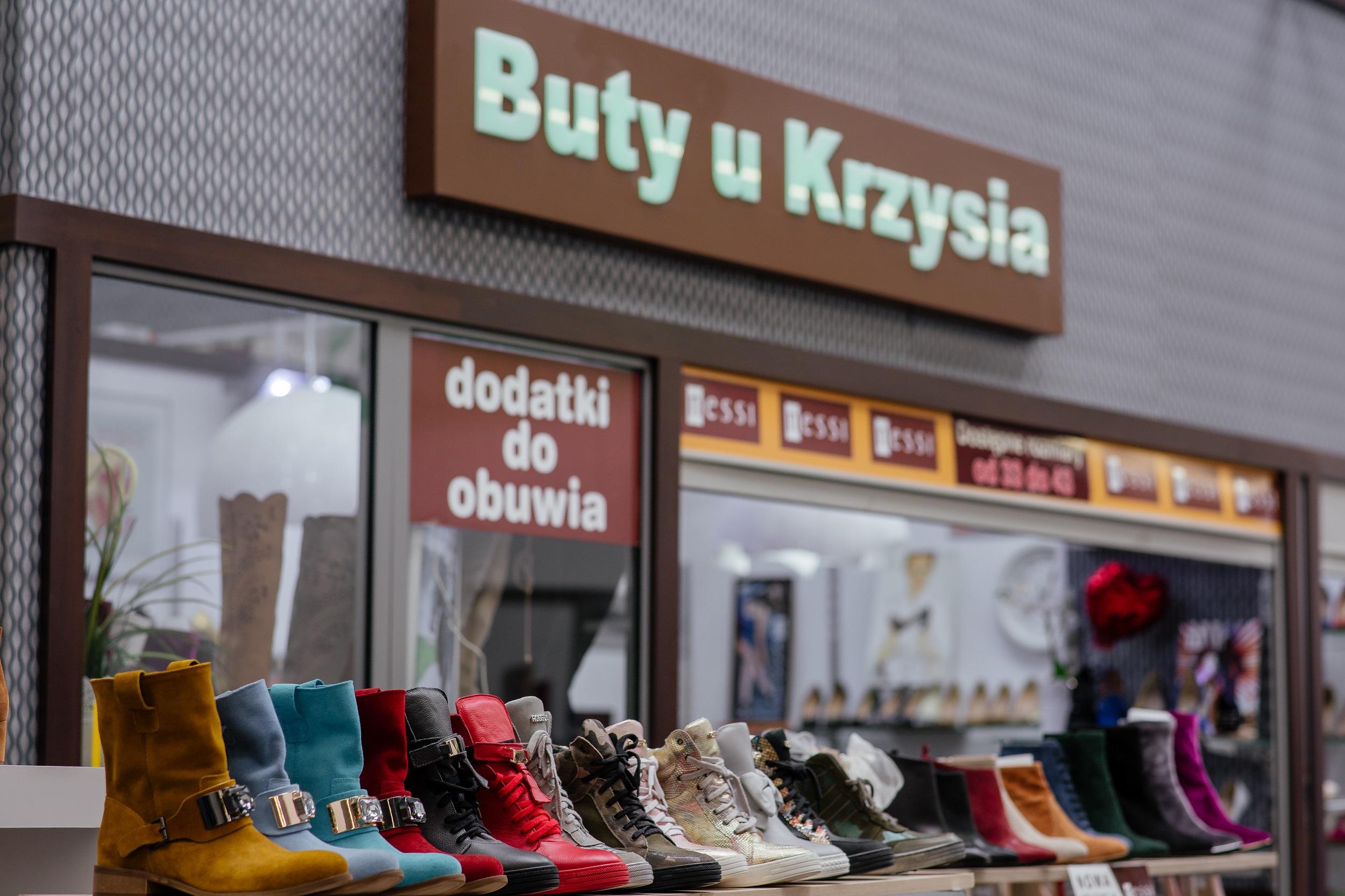 Buty u Krzysia Centrum handlowe, galeria handlowa